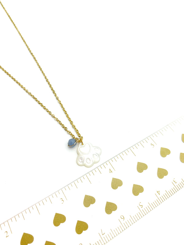 Dog Mother of Pearl Necklaces - LoobanysJewelry