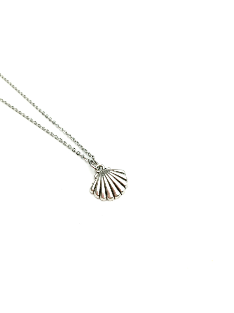 Shell Silver Necklaces - LoobanysJewelry