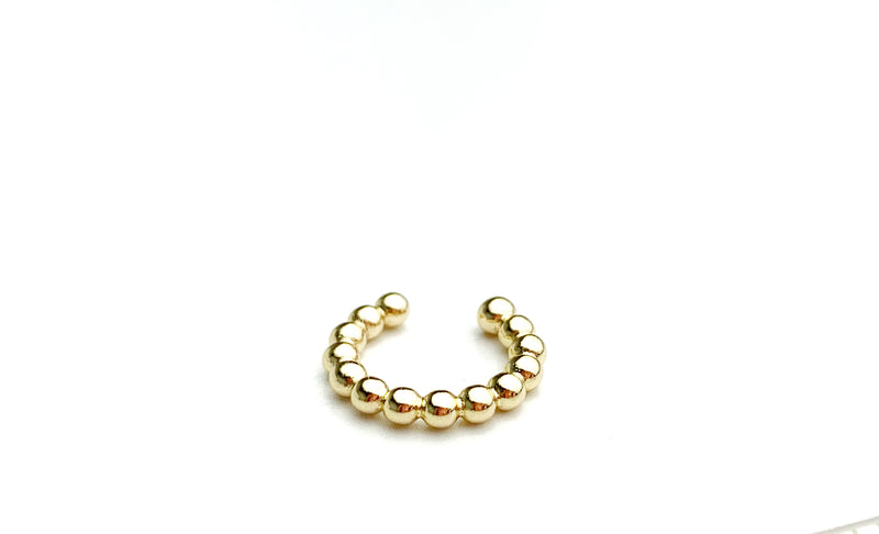 Small Dot Cuff Earring - LoobanysJewelry
