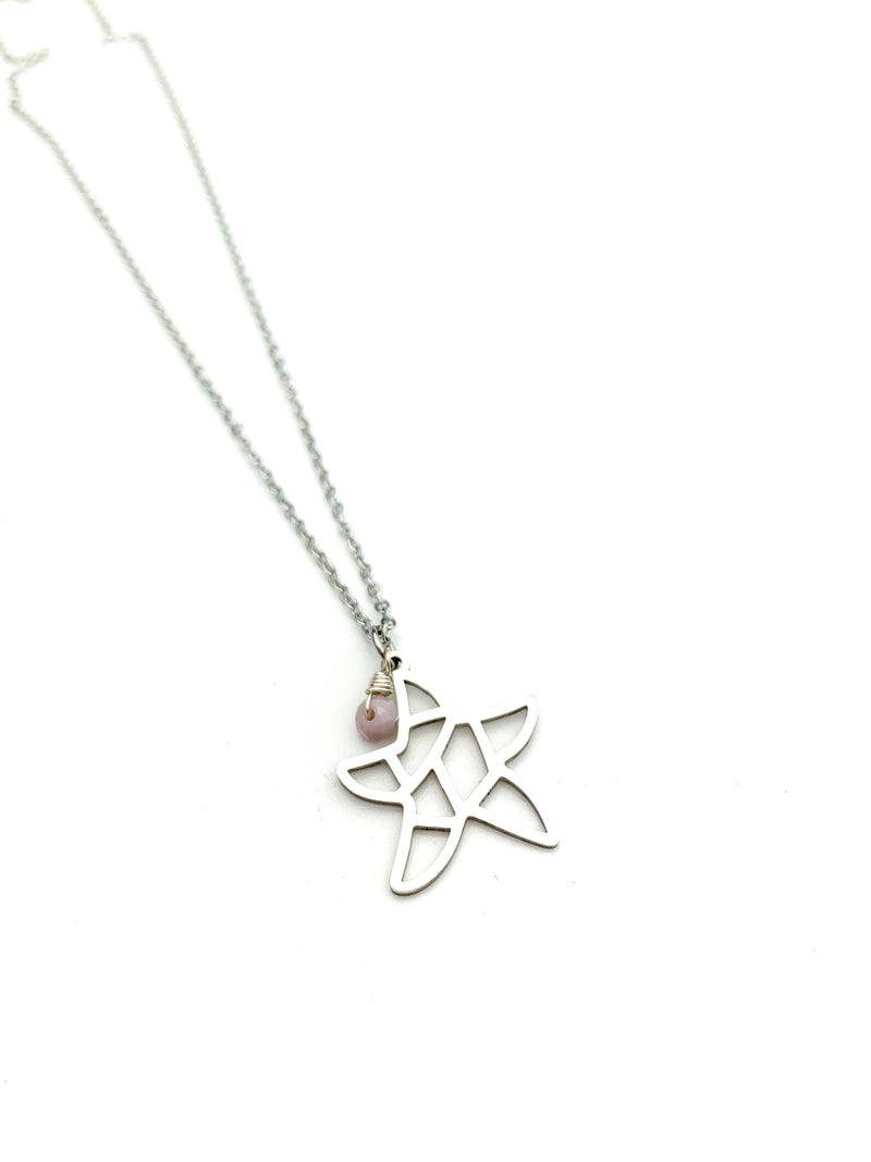 Sea Star Silver Necklaces - LoobanysJewelry