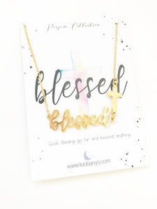 PURPOSE: Blessed necklace