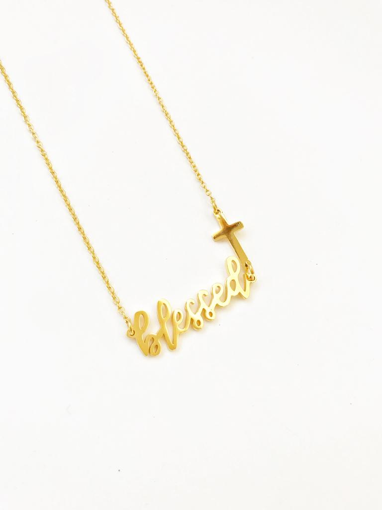 PURPOSE: Blessed necklace - LoobanysJewelry