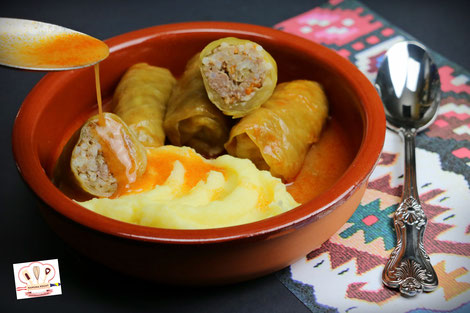 Sarma with sour cabbage