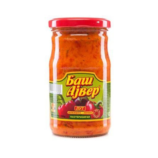 Bash-Home Made Ajvar Hot 300gr