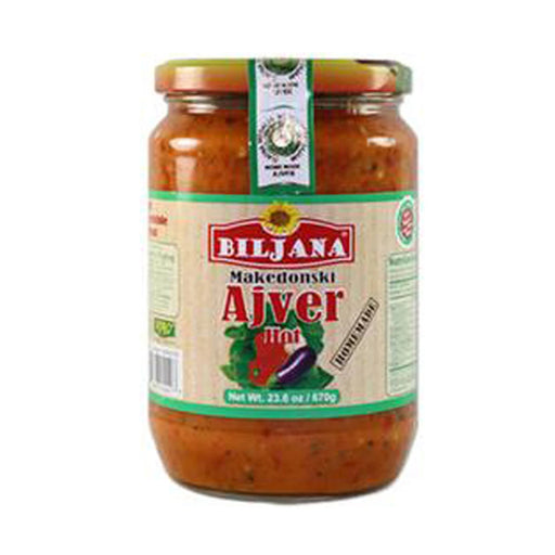 Biljana - Homemade Ajvar Hot 670gr