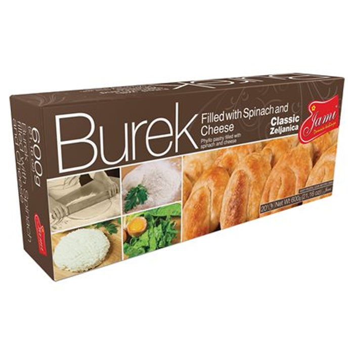 Jami- Burek with Cheese and Spinach 1lbs
