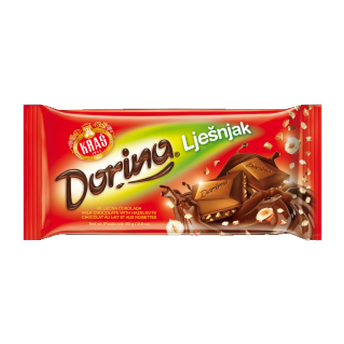 Kras- Dorina hazelnut chocolate 100gr