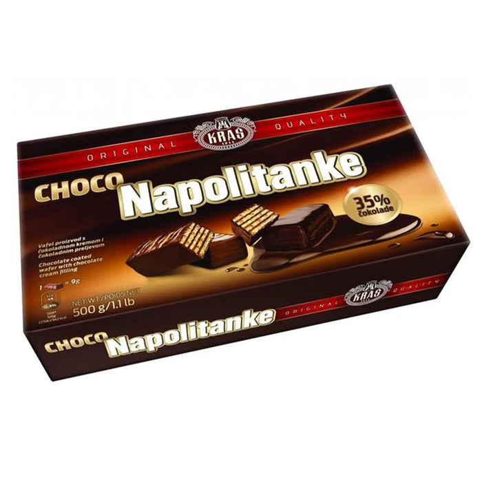 Kras- Wafers with chocolate 500gr