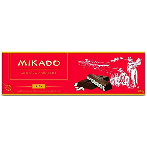 Mikado- Chocolate with rice 300gr