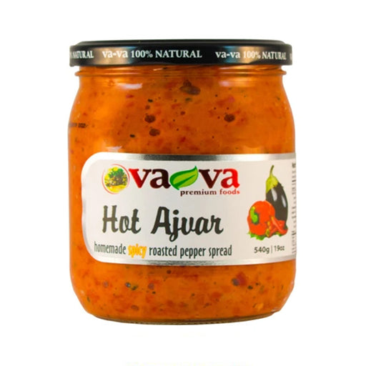 Vava- Ajvar Hot 550gr