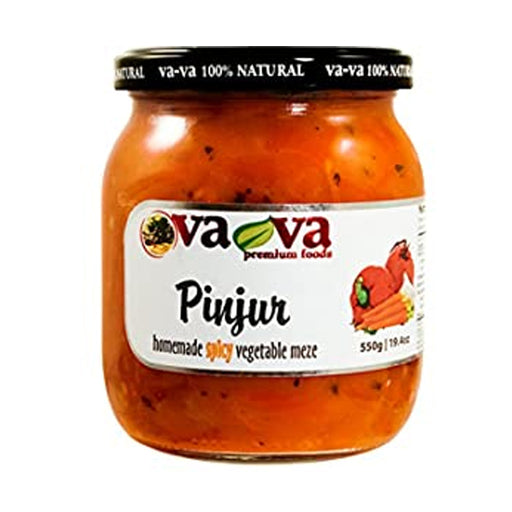 Vava- Spicy vegetable meze (pinjur)  550gr