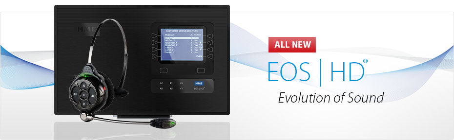EOS | HD® DRIVE-THRU HEADSET SYSTEM WITH HD AUDIO