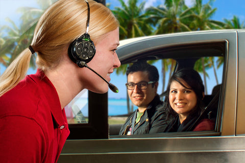 Refurbished drive-thru communication equipment, reconditioned headset, QSR