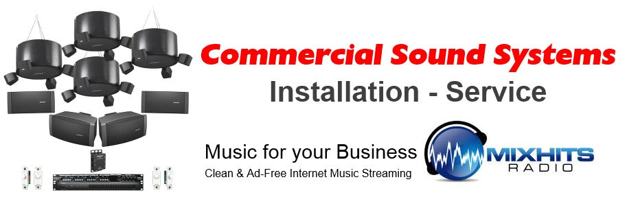 CCOMM business music qsr restaurant sound systems installation service repair Utah, Idaho