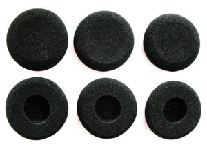 Ear Muffs, Foam Pads, Cushion Sponge Earpads, 3M HME Headset Drive Thru Cover Cap -  6 Pack - C Comm Direct