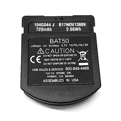 HME BAT50 Battery for HS6100 - HS6200 - HS6300