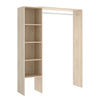 FLESS - Kit Vestidor 110/140 cm de ancho Roble Natural