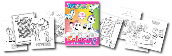 Free Zoonicorn Coloring & Activity Book!