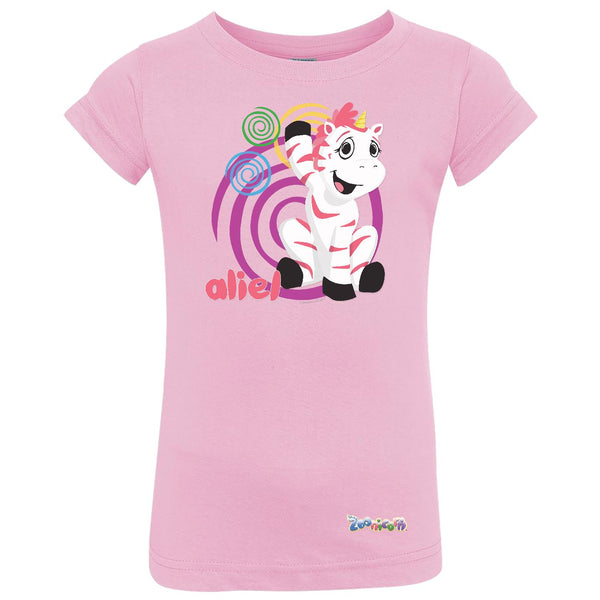 Aliel Swirl by Zoonicorn, Toddler Girls Fine Jersey T-Shirt