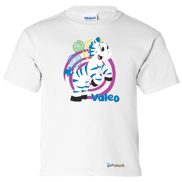 Valeo Swirl by Zoonicorn, Short Sleeve Youth T-Shirt