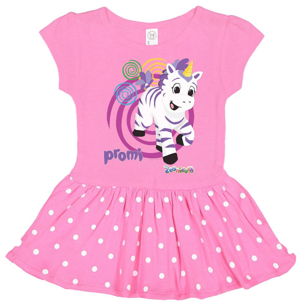Promi Swirl by Zoonicorn, Infant Baby Rib Dress