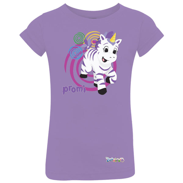 Promi Swirl by Zoonicorn, Toddler Girls Fine Jersey T-Shirt