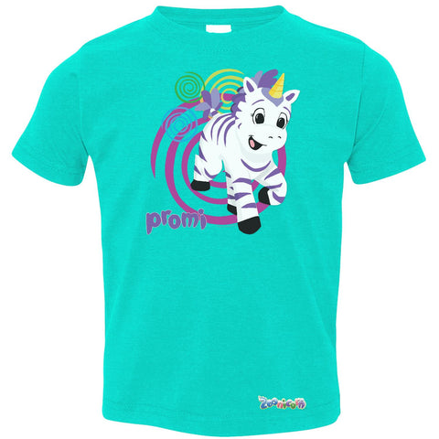 Promi Swirl by Zoonicorn, Toddler Fine Jersey T-Shirt