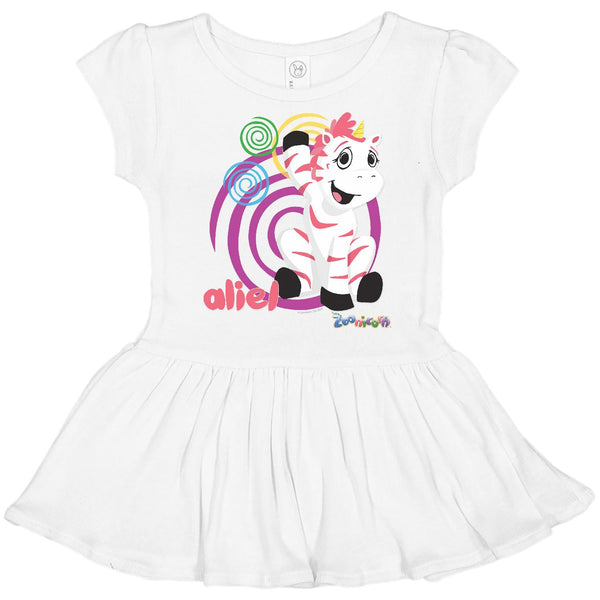 Aliel Swirl by Zoonicorn, Toddler Rib Dress
