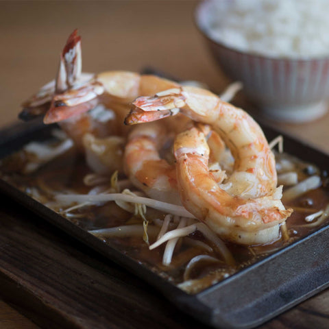 Jumbo White Prawn Teriyaki