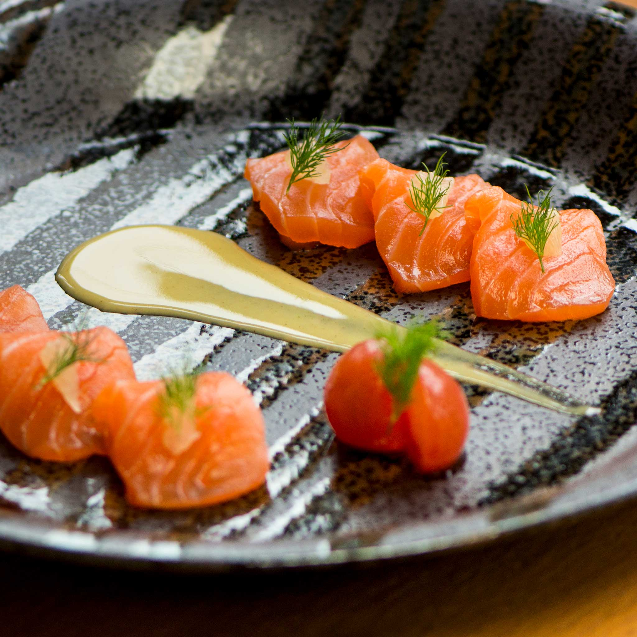 Scottish Salmon Honey Yuzu Mustard