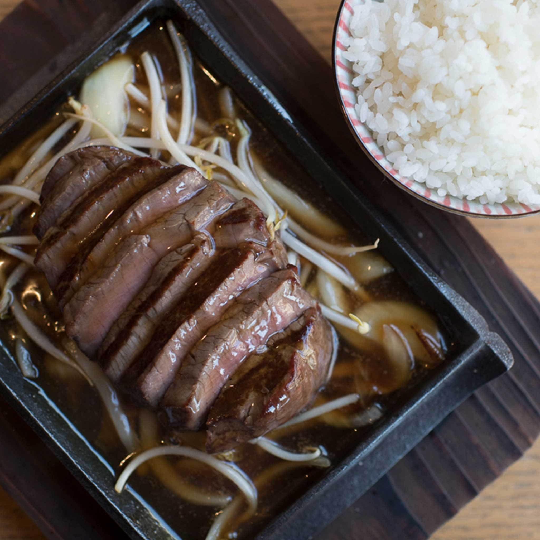 Sliced Tenderloin Teriyaki