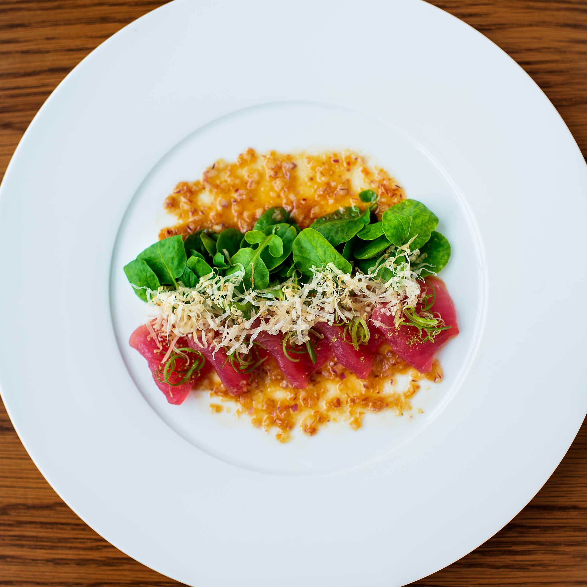 Tuna Watercress
