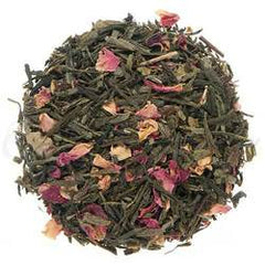 Organic Kyoto Cherry Rose Green Tea - Loose Leaf
