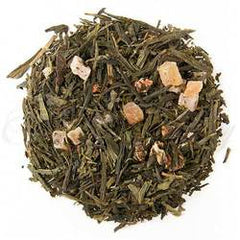 Organic Long Island Strawberry Green Tea - Loose Leaf