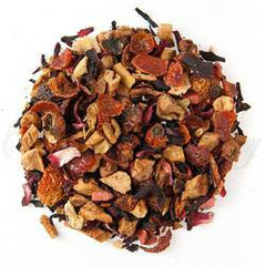 Organic Orange Hibiscus Herbal Tea - Loose Leaf