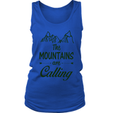 "Women's ""Mountains Are Calling"" Tank"
