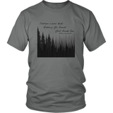 "Men's ""Nature never did betray"" T-shirt"