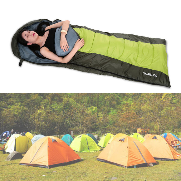 40 degree + Hooded Sleeping Bag (2 colors available)