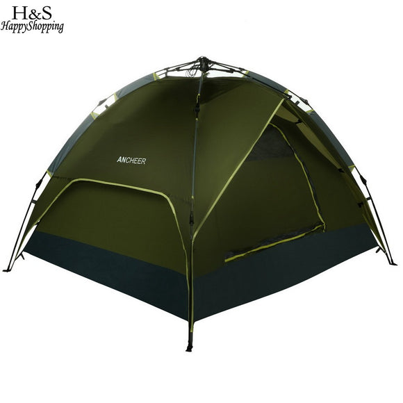 3 - 4 Person Quick Pop Up Waterproof Tent