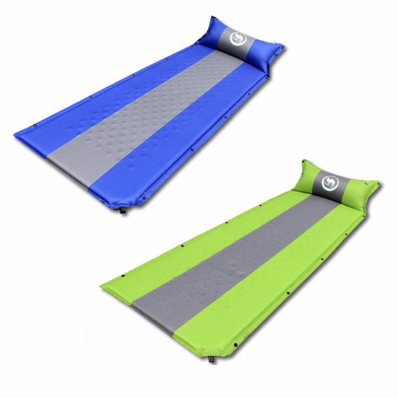 Self-inflating, Sleeping Mat With Pillow (2 colors available)