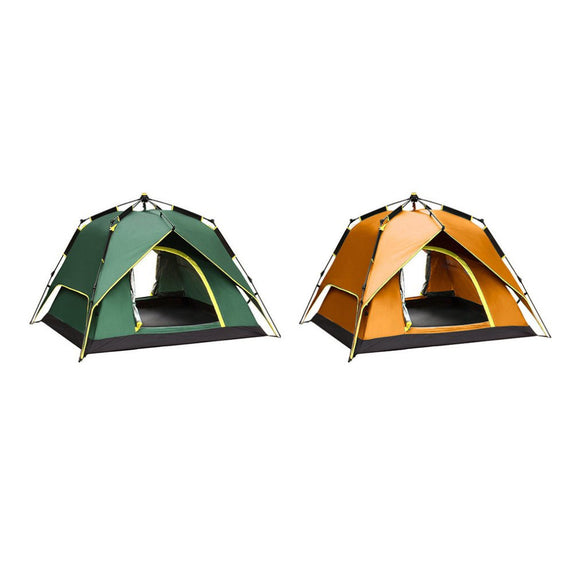 3 - 4 Person Rainproof, Fully Automatic Tent (2 colors available)