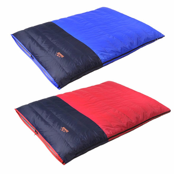 32 degree + Duck Down filled, Double Layer Sleeping Bag (2 colors available)