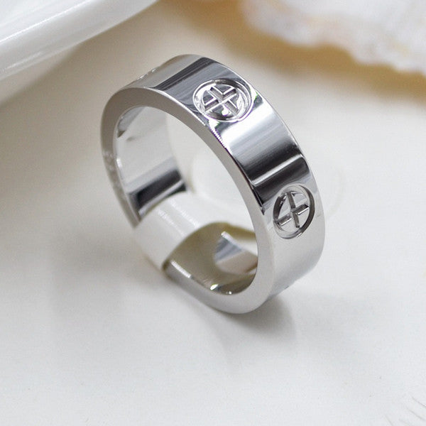 couple cr engagement plated wedding wholesale women the steel large titanium rings new gold az