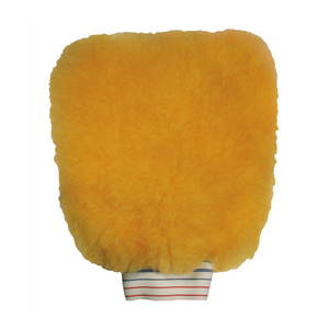 New Solutionz Yellow Wash Mitt A Professional's Choice for Car Detailing Products