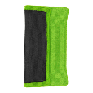 New Solutionz Green Speedy Surface Prep Clay Towel Folded on its side, A Professional's Choice for Car Detailing Products