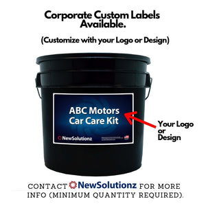 New Solutionz Appearance Care and Car Wash Bucket Kit