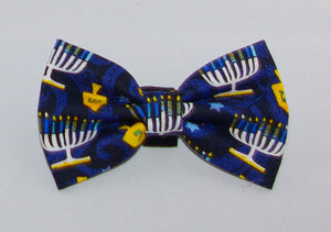Paws With Style - Hanukkah Bow Tie
