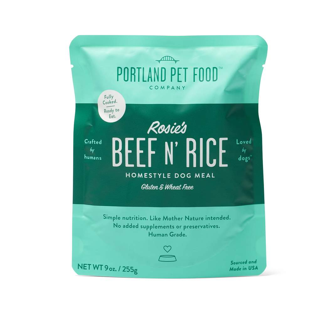 Portland Pet Food Company - Rosie's Beef n' Rice Meal