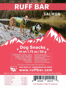Ruff Bar treats - Salmon