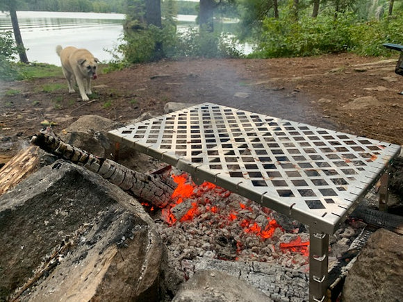 NEW Keep it Simple 1-Level GOSO Campfire Grill